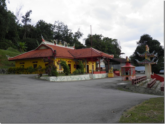 One of the temples at Bukit Chandang