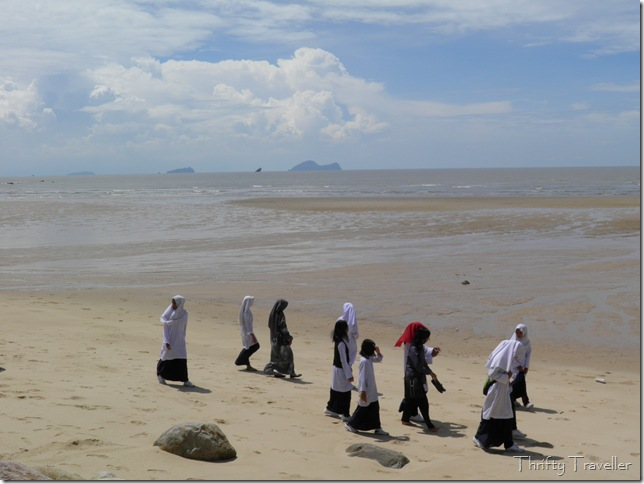 School trip to Damai Beach