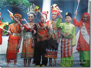 Sarawak Tourism photo of different ethnic groups.