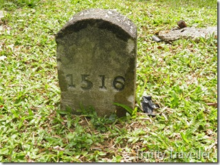 Unmarked Grave at Loke Yew Cemetery