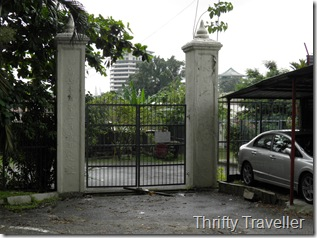 Old Gates to the Japanese Cemetery, Kuala Lumpur