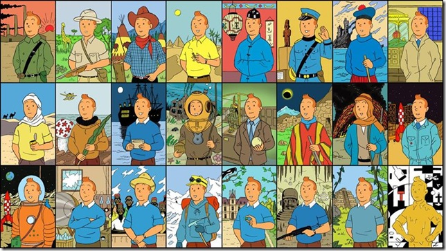 Tintin's Travels