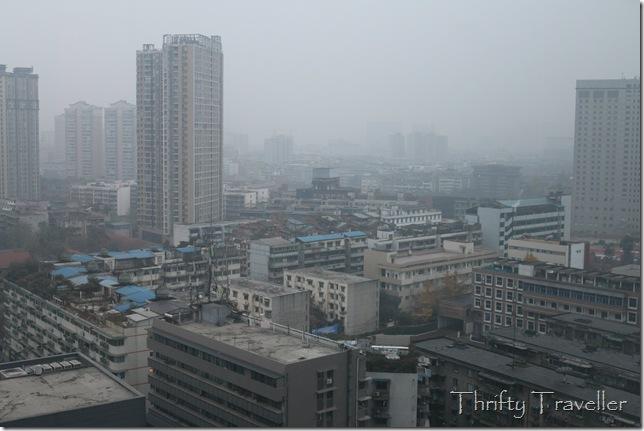 Foggy Chengdu