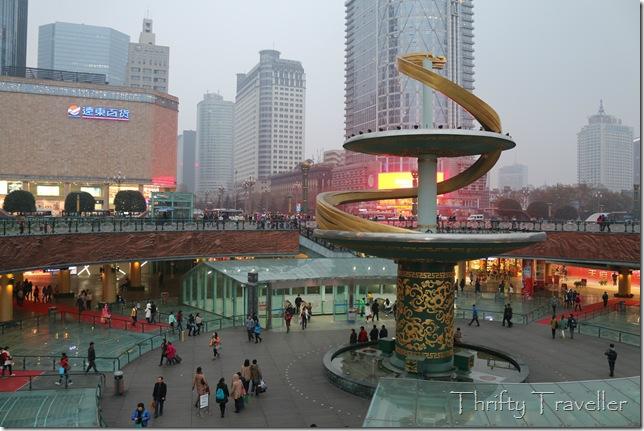 Tianfu Square, Chengdu