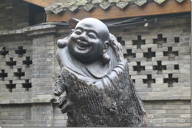 Laughing Buddha Sculpture, Chengdu