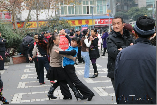 Strictly come dancing in Chengdu
