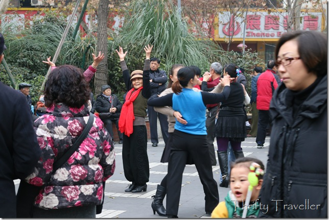 Ballroom dancing veteran, Chengdu