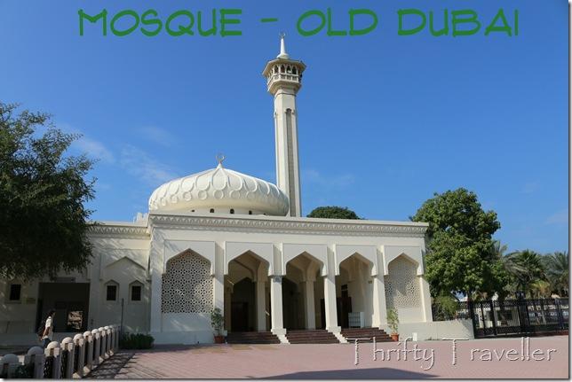 Mosque in Old Dubai