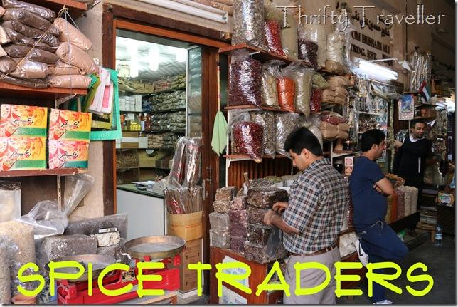 Spice shop at Deira Spice Market
