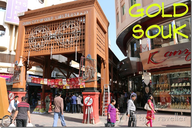 Entrance to Dubai Gold Souq