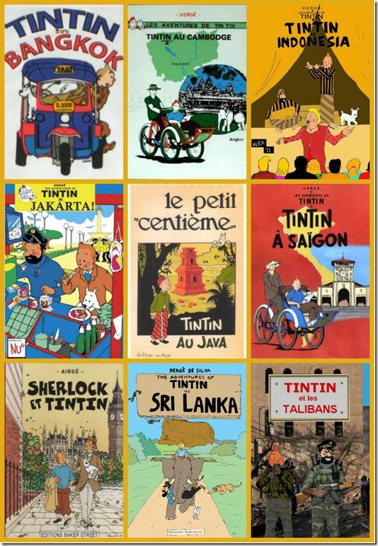 Tintincollage
