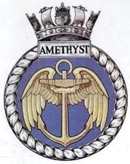 HMS Amethyst Badge