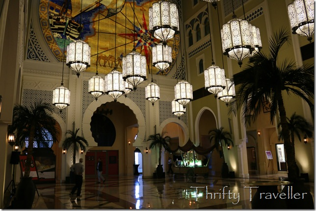 Interior of Movenpick Hotel, Ibn Battuta Mall
