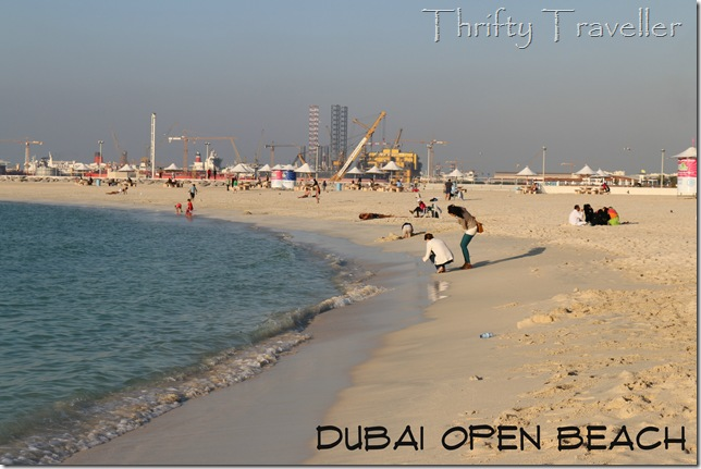Dubai Open Beach