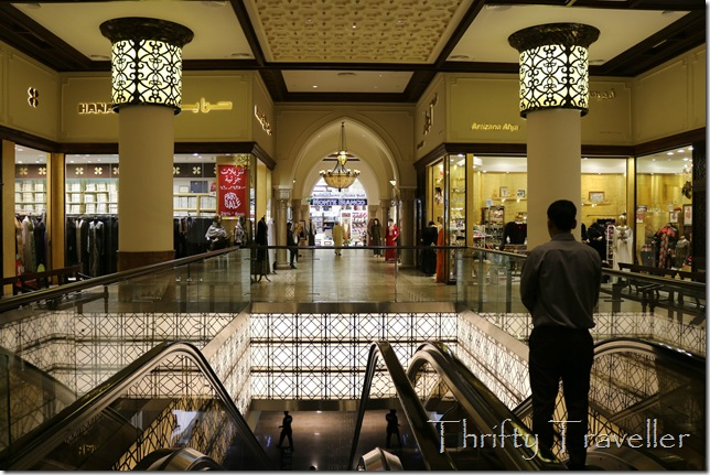 Interior of Dubai Mall