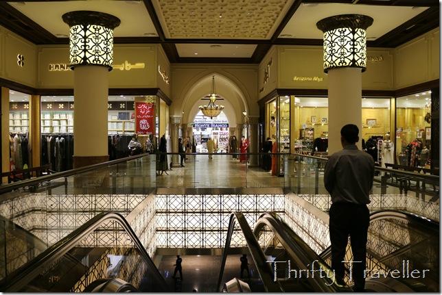 Interior of Dubai Mall