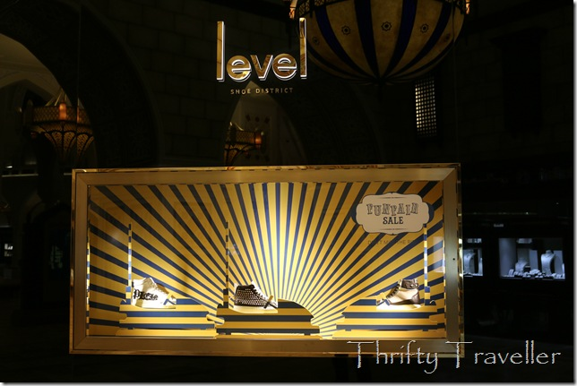 Level Shoe District at Dubai Mall