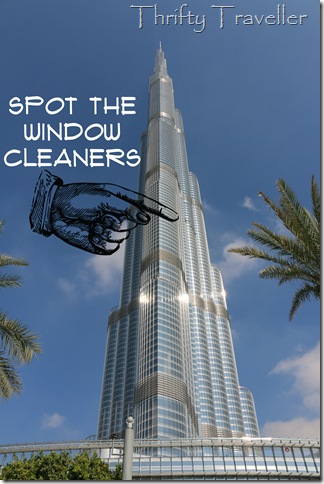 Window Cleaners at Burj Khalifa, Dubai