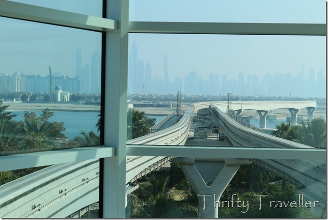 Palm Jumeirah Monorail Tracks
