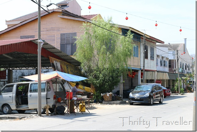 Main street in Kampung Baru Coldstream