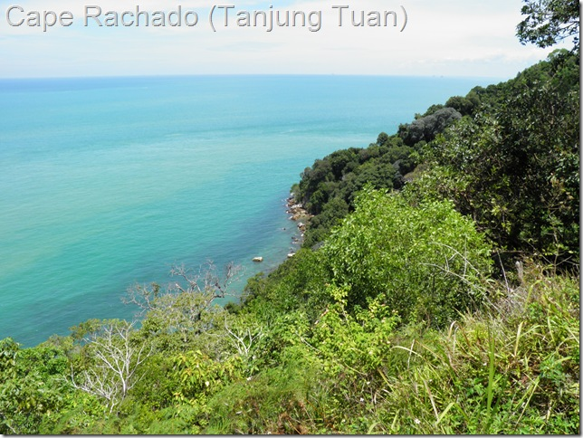 One of Hang Tuah's 'footprints' can be found at Cape Rachado (Tanjung Tuan)
