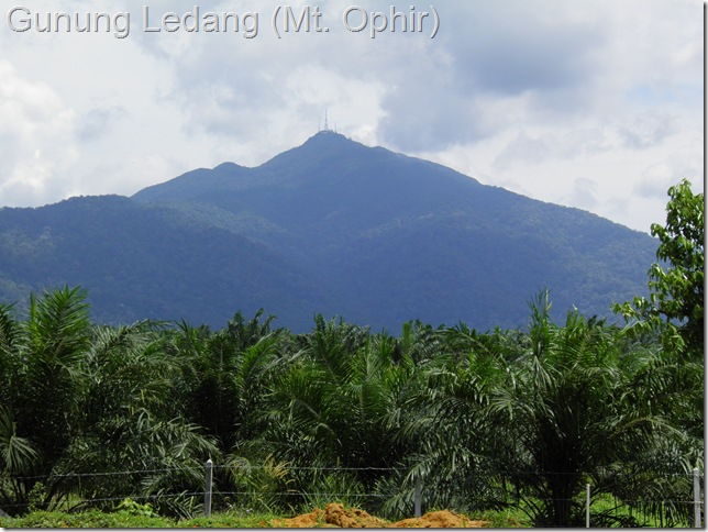 Gunung Ledang (Mt. Ophir)
