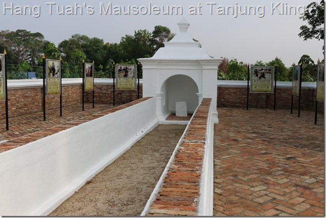 Hang Tuah's Mausoleum at Tanjung Kling