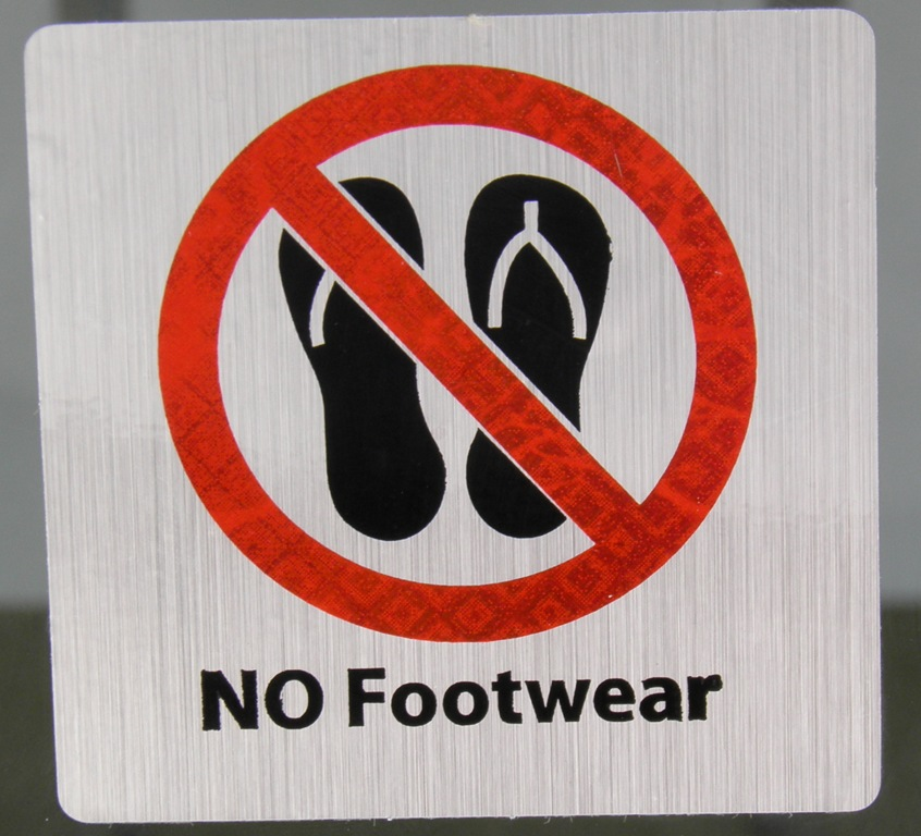Remove footwear images in tamil