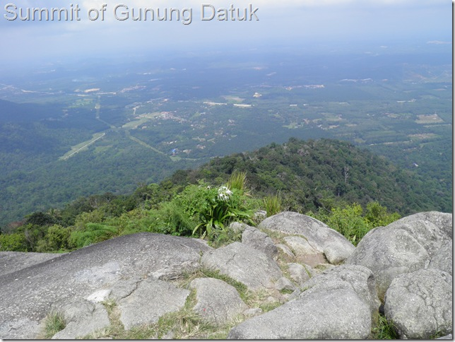 At the peak of Gunung Datuk in Negeri Sembilan is an indentation in the rock said to be Hang Tuah's footprint.