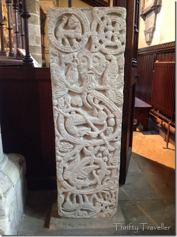 Anglo Saxon Grave Slab, St Peter's Church, Northampton