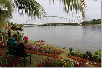 View of Seri Saujana bridge from Putrajaya Floria 2014