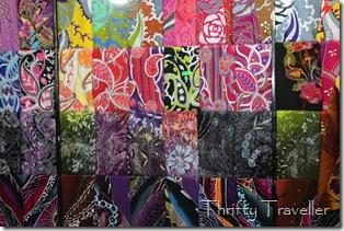 Malaysian fabrics on sale