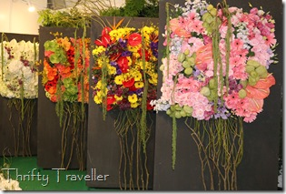 Four Seasons floral display from Kunming, China