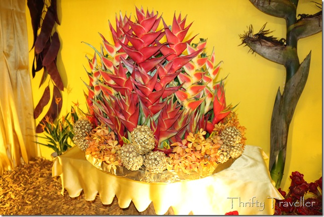 Heliconia display at Putrajaya Floria 2014