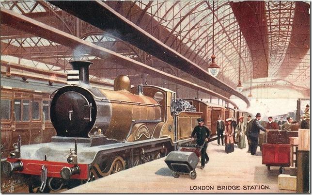 London Bridge Station 1907
