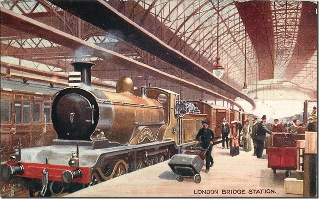 London Bridge Station 1907