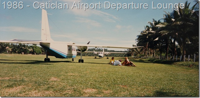 Caticlan Airport 1986