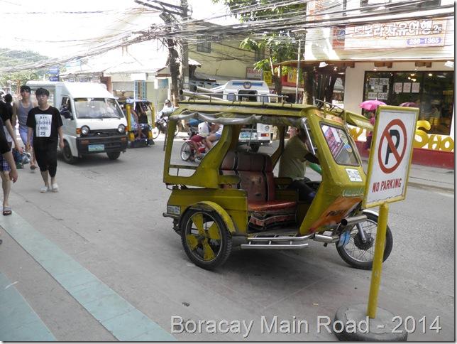Boracay Main Road - 2014