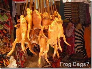 Frog Bags in D'Talipapa Market