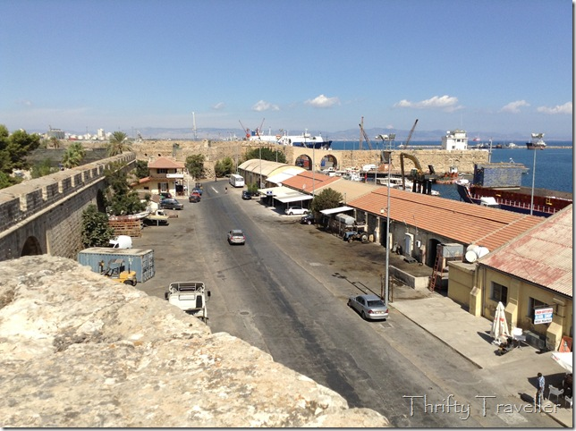 Famagusta Port and city walls