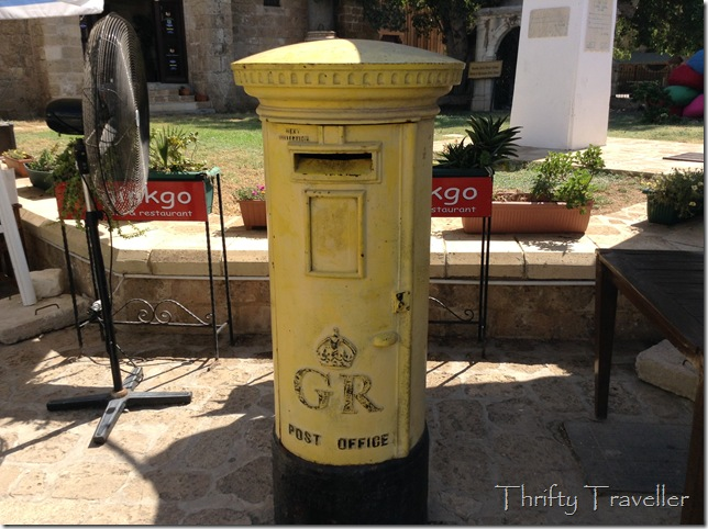 King George VI letterbox, Famagusta, Cyprus