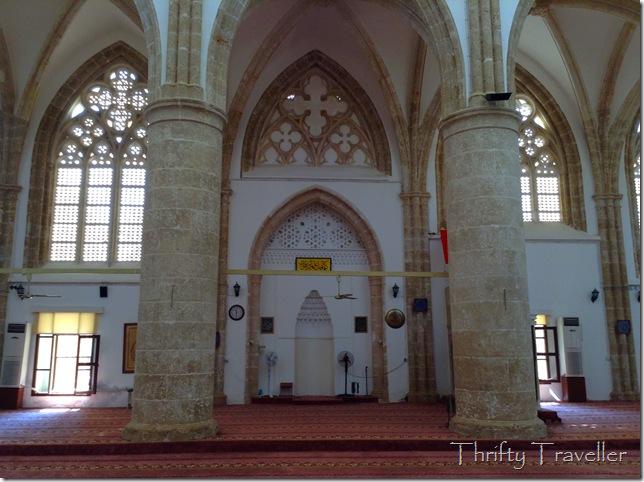 Mihrab in Lala Mustafa Pasa Mosque, Famagusta