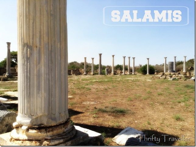 Ruined stadium, Salamis, Northern Cyprus