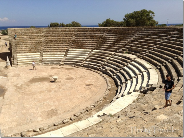Amphitheatre, Salamis, Cyprus