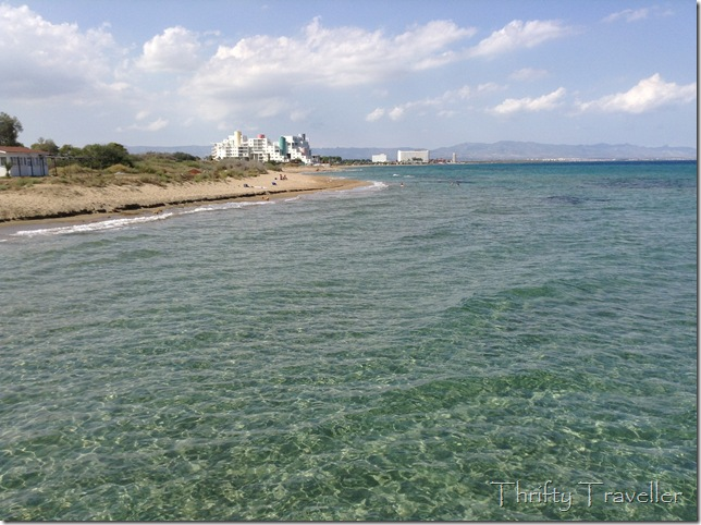 Beach at Salamis, Famagusta
