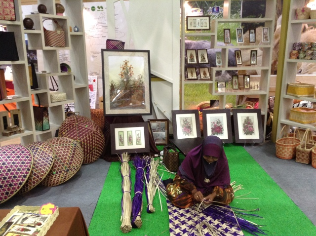 Handicraft stall at MAHA2014