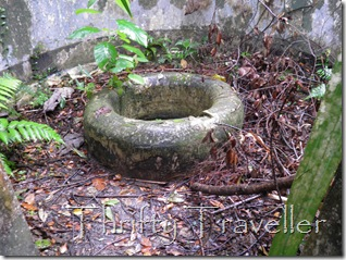 Old well at Pulau Masjid, Tanjung Tuan