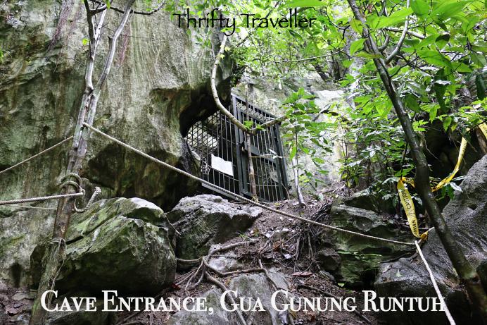 Cave Entrance Gua Gunung Runtuh