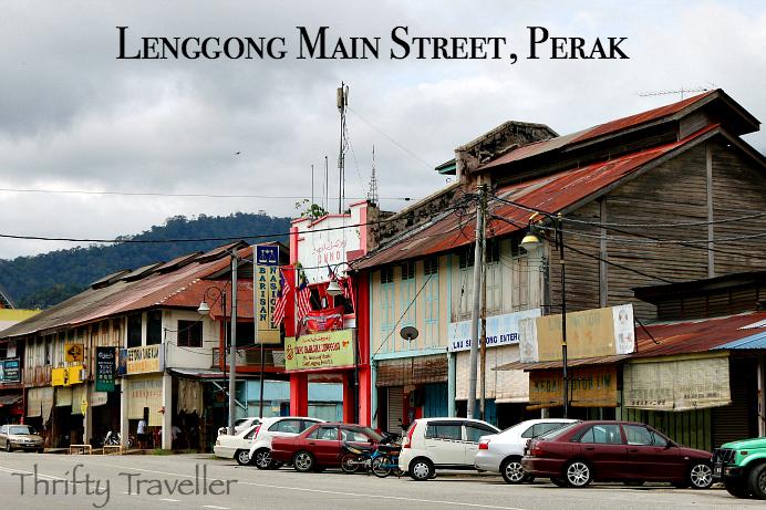 Lenggong Main Street Perak