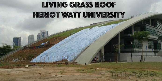 Living Grass Roof Heriot Watt University